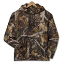 11393  Hooded Camo Pullover