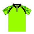 12312  Static Shoulder Sublimated Polo