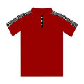 12317  Checker Shoulder Sublimated Polo