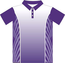 12323  Front Sublimated Polo