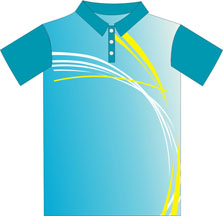 12324  Front Sublimated Polo