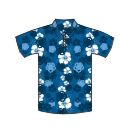 12336  Dye-Sub Hawaiian Polo Shirt