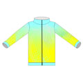 12365  Wind Full Sublimation Jacket