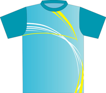12374  Short-Sleeve Full Sublimated Jersey