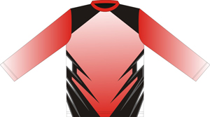 12391  Long Sleeve Full Sublimated Jersey