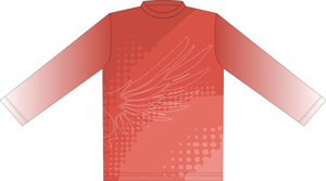 12392  Long Sleeve Full Sublimated Jersey