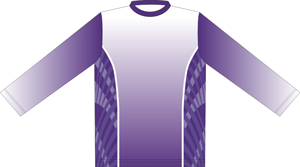12393  Long Sleeve Full Sublimated Jersey