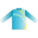 12394  Long Sleeve Full Sublimated Jersey