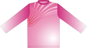 12395  Long Sleeve Full Sublimated Jersey