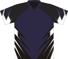 12401  Short Sleeve V-neck Full Sublimated Jersey