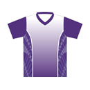 12403  Short Sleeve V-neck Full Sublimated Jersey
