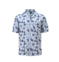 12511  Full Dye-Sub Hawaiian Floral Camp Shirt