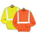 21102  Class 2 Crew Neck Safety Sweatshirt