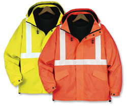 21104  Class 2 All Weather Safety Jacket