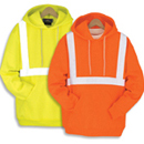 21105  Class 2 Pullover Hooded Safety Sweatshirt