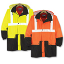 21108  Class 2 High Contrast Safety Parka