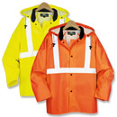 21122  Class 2 Safety Rain Jacket