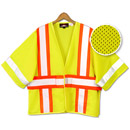 21150  ANSI 3 Open Sided Sleeved Mesh Vest