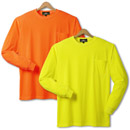 21197  Non-ANSI Long Sleeves Safety T-Shirt