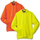 21200  Non-ANSI Pullover Hooded Safety Sweatshirt