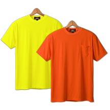 21203  Non-ANSI Short Sleeves Safety T-Shirt