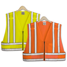 21212  Police Breakaway Safety Vest