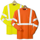 21215  Class 3 Long Sleeve Safety T-Shirt