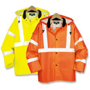 21220  Class 3 Safety Rain Jacket