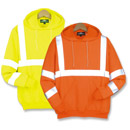21224  Class 3 Pullover Hooded Safety Sweatshirt