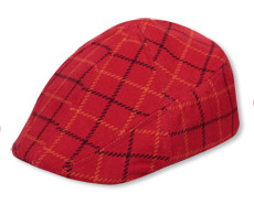 32015  Plaid Pub Cap