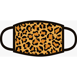 32511  Fashion Cloth Mask - Leopard