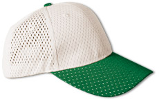 37077  Curved Bill Athletic Mesh Cap