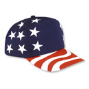 38132  Stars & Stripes Cap - 5-Panel
