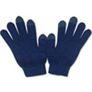 71006  Classic Navy Touch Gloves