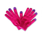 71024  Classic Bright Pink Touch Gloves