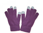 71029  Classic Purple Touch Gloves